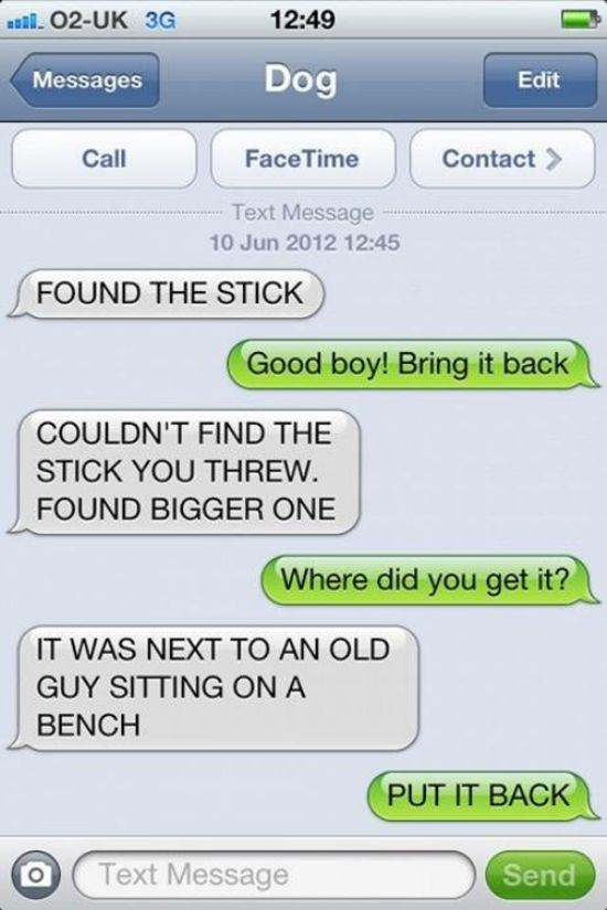 Found stick