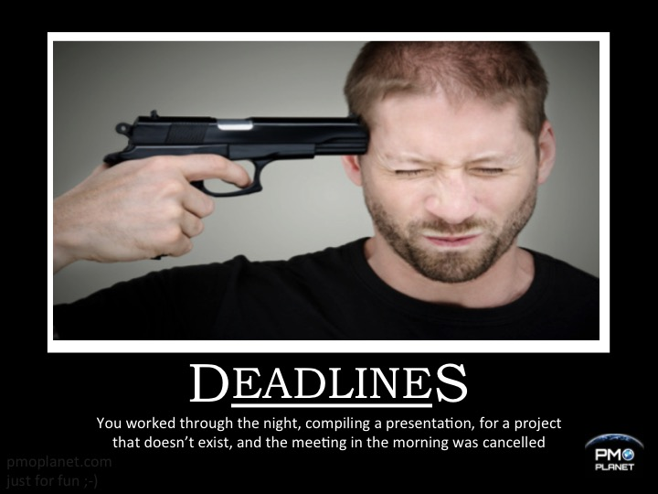 20151016 - Demotivationel - Deadlines