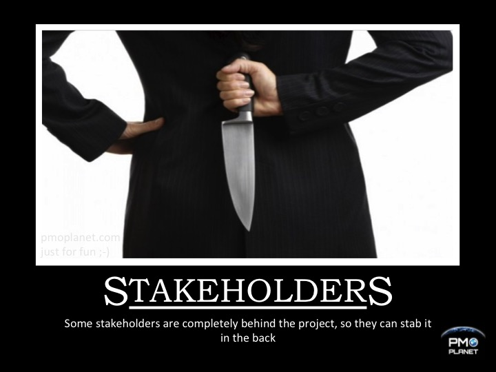 20151016 - Demotivationel - Stakeholders